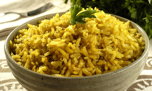 Arroz Integral, Curry e Canela