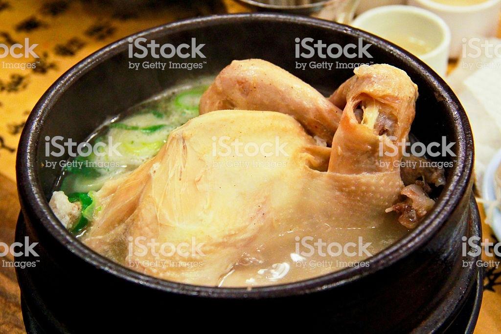 Sopa de Galinha com Ginseng